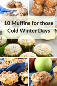 10 muffins for those cold winter days