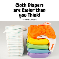 Cloth Diapers are Easier than you Think!