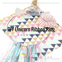 DIY Unicorn Ribbon Ring
